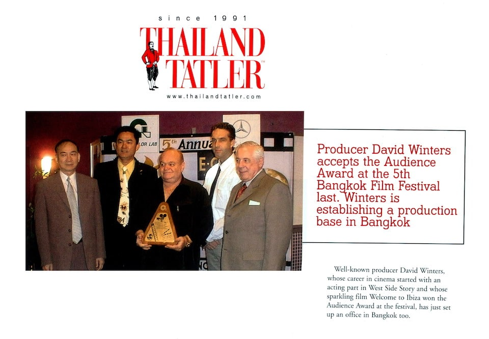 32. thailand-tatler-david-winters-accepts-1st Prize-Bangkok-Film-Festival